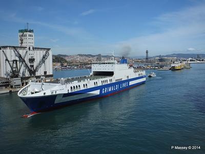 EUROCARGO CAGLIARI Departing Barcelona PDM 06-04-2014 10-46-38
