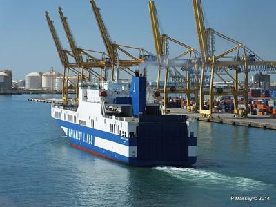 EUROCARGO CAGLIARI Departing Barcelona PDM 06-04-2014 10-50-50