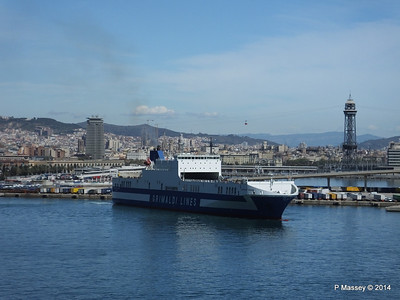 EUROCARGO CAGLIARI Departing Barcelona PDM 06-04-2014 10-42-54