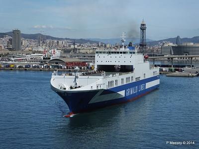 EUROCARGO CAGLIARI Departing Barcelona PDM 06-04-2014 10-45-26
