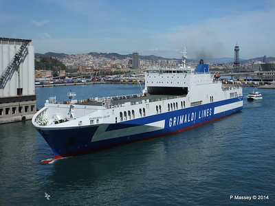 EUROCARGO CAGLIARI Departing Barcelona PDM 06-04-2014 10-46-25