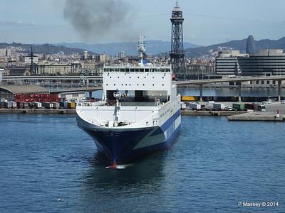 EUROCARGO CAGLIARI Departing Barcelona PDM 06-04-2014 10-44-40