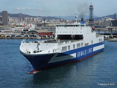 EUROCARGO CAGLIARI Departing Barcelona PDM 06-04-2014 10-45-34
