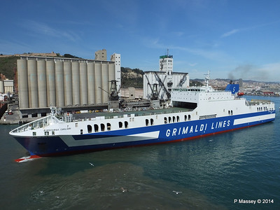 EUROCARGO CAGLIARI Departing Barcelona PDM 06-04-2014 10-47-13