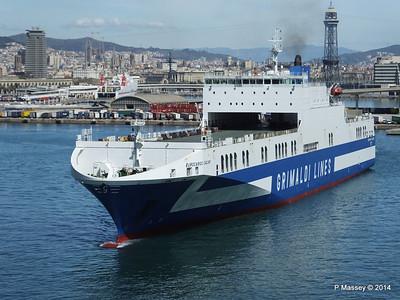 EUROCARGO CAGLIARI Departing Barcelona PDM 06-04-2014 10-45-38