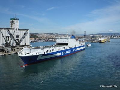 EUROCARGO CAGLIARI Departing Barcelona PDM 06-04-2014 10-46-33