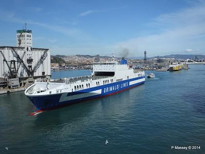 EUROCARGO CAGLIARI Departing Barcelona PDM 06-04-2014 10-46-35