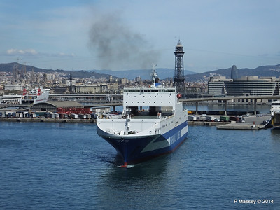 EUROCARGO CAGLIARI Departing Barcelona PDM 06-04-2014 10-44-46