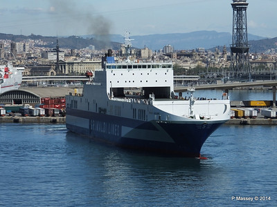 EUROCARGO CAGLIARI Departing Barcelona PDM 06-04-2014 10-43-43