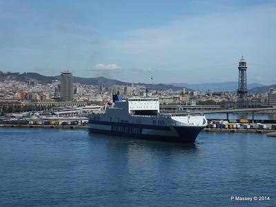 EUROCARGO CAGLIARI Departing Barcelona PDM 06-04-2014 10-43-02