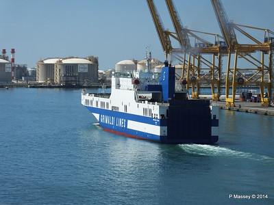 EUROCARGO CAGLIARI Departing Barcelona PDM 06-04-2014 10-51-52