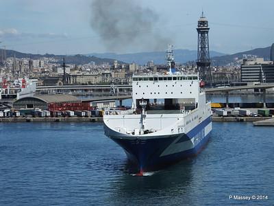 EUROCARGO CAGLIARI Departing Barcelona PDM 06-04-2014 10-44-43