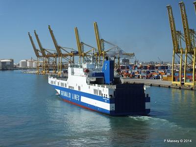 EUROCARGO CAGLIARI Departing Barcelona PDM 06-04-2014 10-50-09