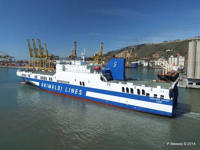 EUROCARGO CAGLIARI Departing Barcelona PDM 06-04-2014 10-48-37