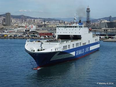 EUROCARGO CAGLIARI Departing Barcelona PDM 06-04-2014 10-45-31