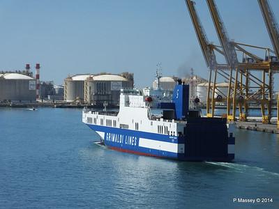 EUROCARGO CAGLIARI Departing Barcelona PDM 06-04-2014 10-52-14