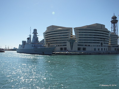 French Frigate FORBIN D620 Barcelona PDM 06-04-2014 14-19-52