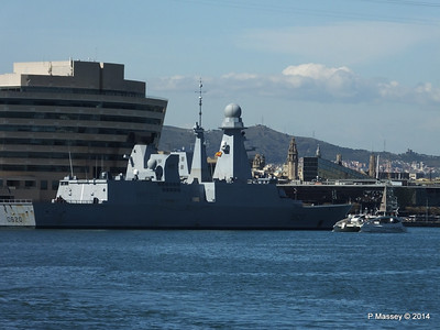 French Frigate FORBIN D620 Barcelona PDM 06-04-2014 14-14-27