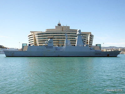 French Frigate FORBIN D620 Barcelona PDM 06-04-2014 14-18-56