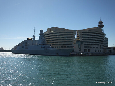 French Frigate FORBIN D620 Barcelona PDM 06-04-2014 14-19-41