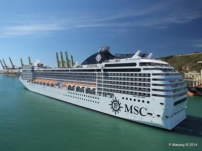 MSC ORCHESTRA Departing Barcelona PDM 06-04-2014 12-16-05