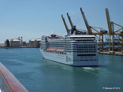 MSC ORCHESTRA Departing Barcelona PDM 06-04-2014 12-18-12