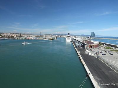 NORWEGIAN SPIRIT and Barcelona PDM 06-04-2014 12-45-21