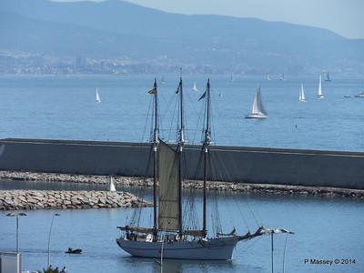 SANTA EULALIA Tall Ship MMB Barcelona PDM 06-04-2014 10-30-11