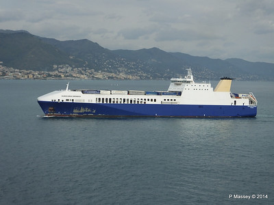 EUROCARGO BRINDISI Approaching Genoa PDM 05-04-2014 15-12-37