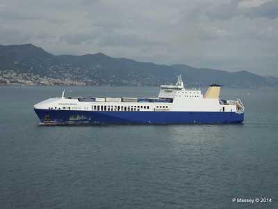 EUROCARGO BRINDISI Approaching Genoa PDM 05-04-2014 15-12-34
