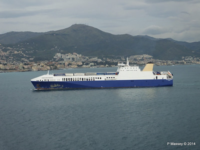 EUROCARGO BRINDISI Approaching Genoa PDM 05-04-2014 15-12-54