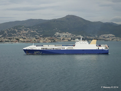 EUROCARGO BRINDISI Approaching Genoa PDM 05-04-2014 15-12-57