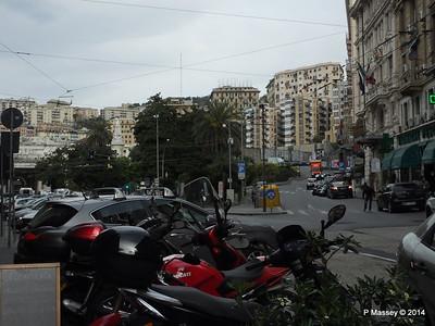 Via Balbi to Piazza Principe Genoa 05-04-2014 07-31-58