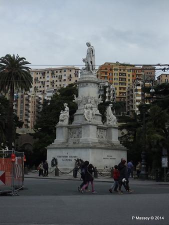 Christopher Columbus Statue Piazza Principe Genoa PDM 05-04-2014 07-35-01