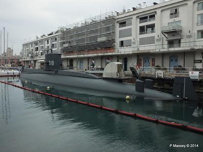 NAZARIO SAURO S518 Galata Maritime Museum Genoa 05-04-2014 08-07-49