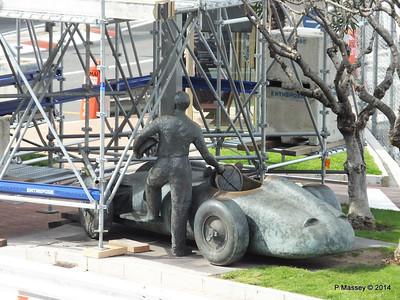 Juan Manuel Fangio Sculpture Monaco 07-04-2014 13-32-05