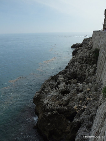 View from Coastal Path S of Harbour Breakwater Monaco 07-04-2014 13-08-12