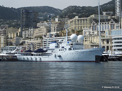 Monaco Yachts, Port Hercule - 7 Apr 2014