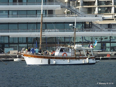 Unknown Excursion Boat Port Hercule Monaco 07-04-2014 15-25-47