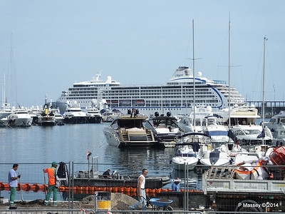 SEVEN SEAS MARINER over Port Hercule Monaco 07-04-2014 13-46-25