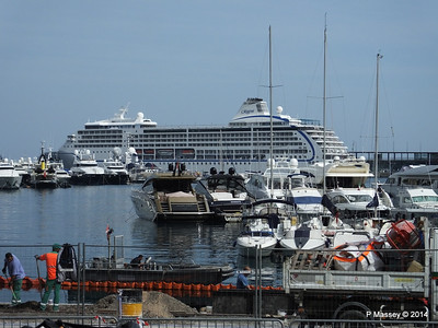 SEVEN SEAS MARINER over Port Hercule Monaco 07-04-2014 13-46-36