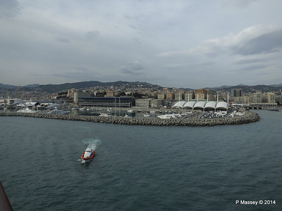 Departing the Port of Genoa PDM 05-04-2014 15-09-25