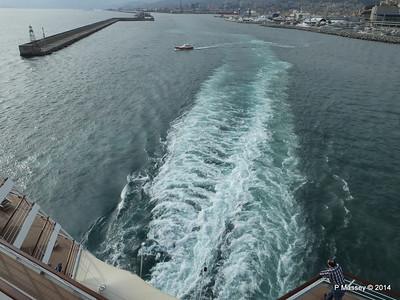 Departing the Port of Genoa PDM 05-04-2014 15-10-05