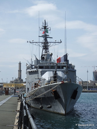 French COMMANDANT BOUAN F797 Genoa PDM 05-04-2014 11-22-35