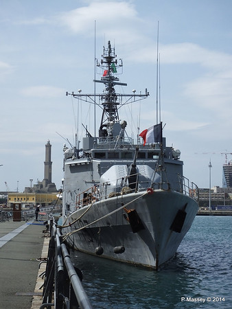 French COMMANDANT BOUAN F797 Genoa PDM 05-04-2014 11-22-38