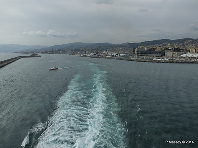 Departing the Port of Genoa PDM 05-04-2014 15-10-08