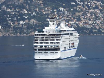 Regent SEVEN SEAS MARINER Approaching Monte Carlo 07-04-2014 09-20-05
