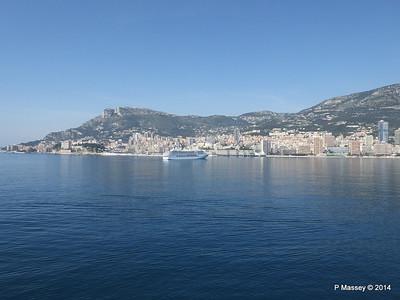 Regent SEVEN SEAS MARINER Approaching Monte Carlo 07-04-2014 09-39-17
