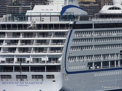 Regent SEVEN SEAS MARINER Approaching Monte Carlo 07-04-2014 09-23-13