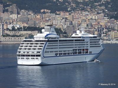 Regent SEVEN SEAS MARINER Approaching Monte Carlo 07-04-2014 09-25-50